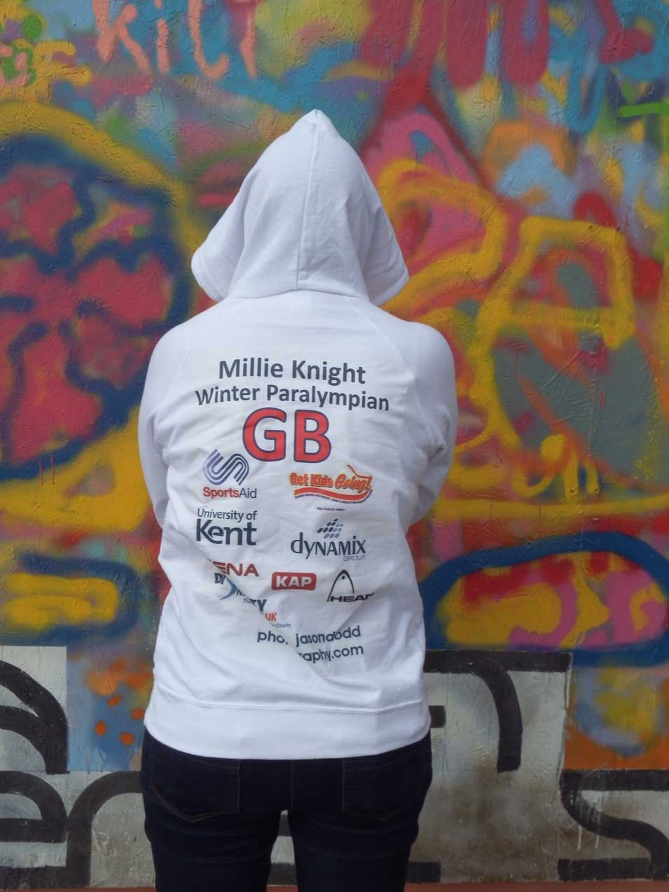 Millie Knight Paralympian skier