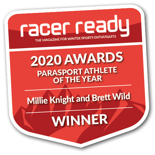 Millie Knight Racer Ready 2020 Parasport athlete of the year